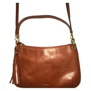 Coach Legacy Lthr Dbl Gusset Crossbody Bag 26601
